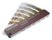 美国PANTONE金属类色卡